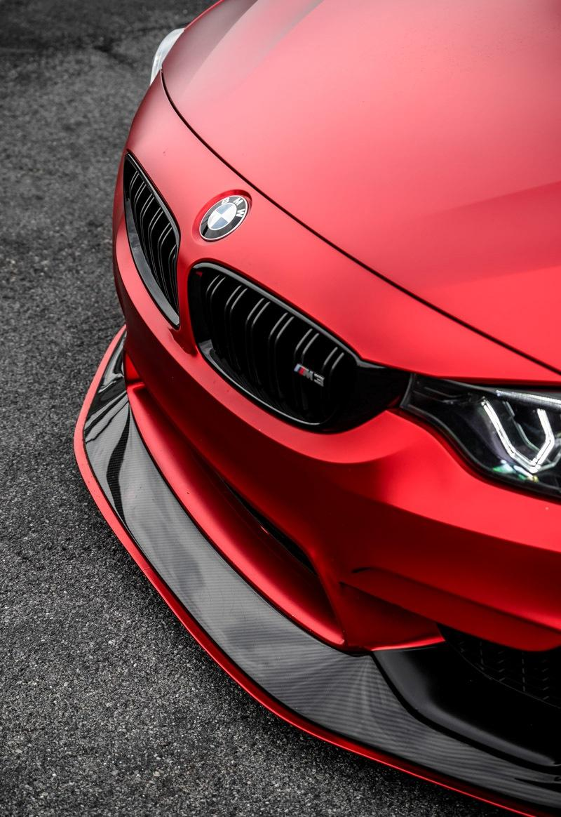 BMW M3 Rojo Mate