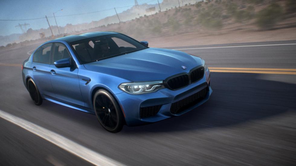 BMW M5 en la presentación del Need for Speed: Payback