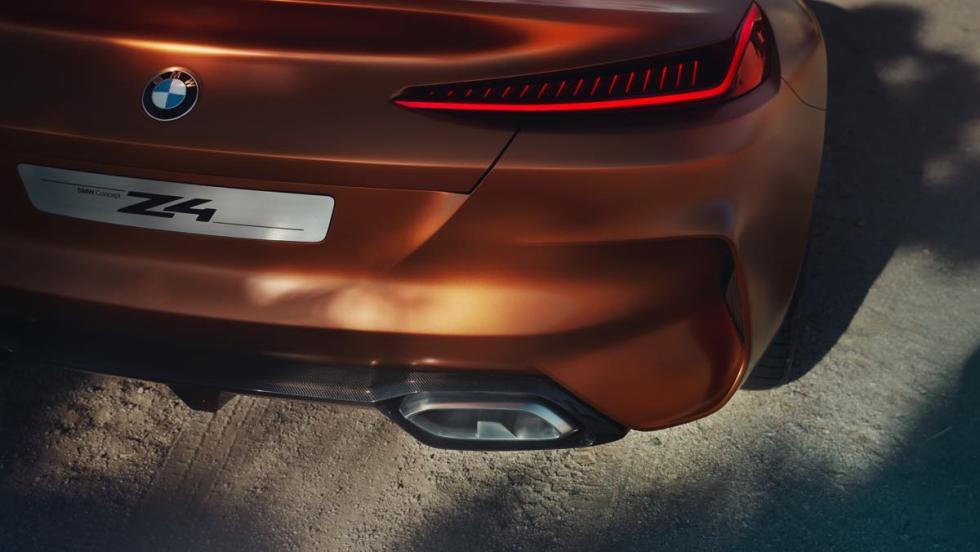 BMW Z4 Concept faro trasero