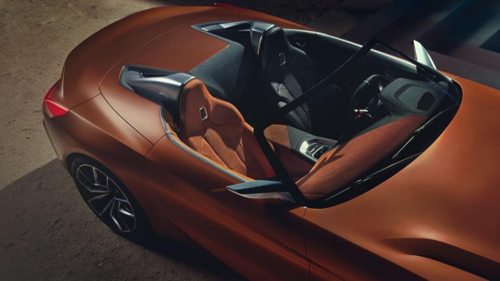 BMW Z4 Concept habitáculo