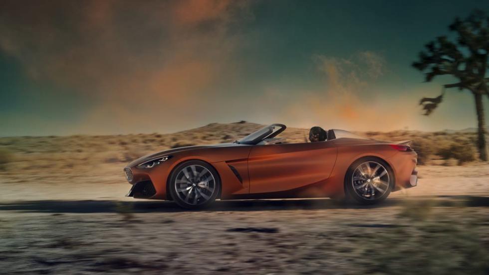 BMW Z4 Concept perfil