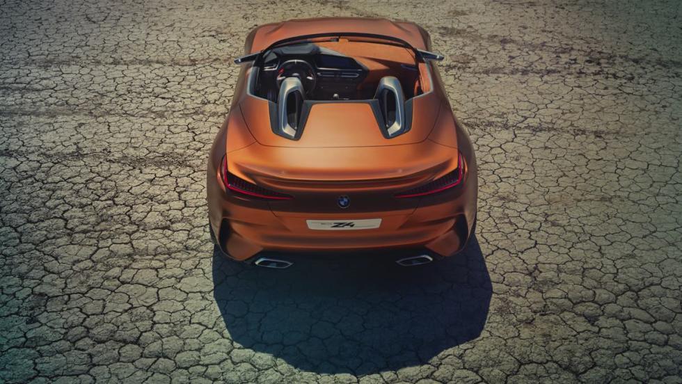 BMW Z4 Concept vista aérea