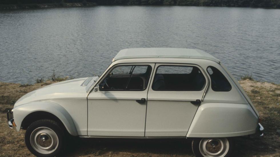 Citroën Dyane (lateral)