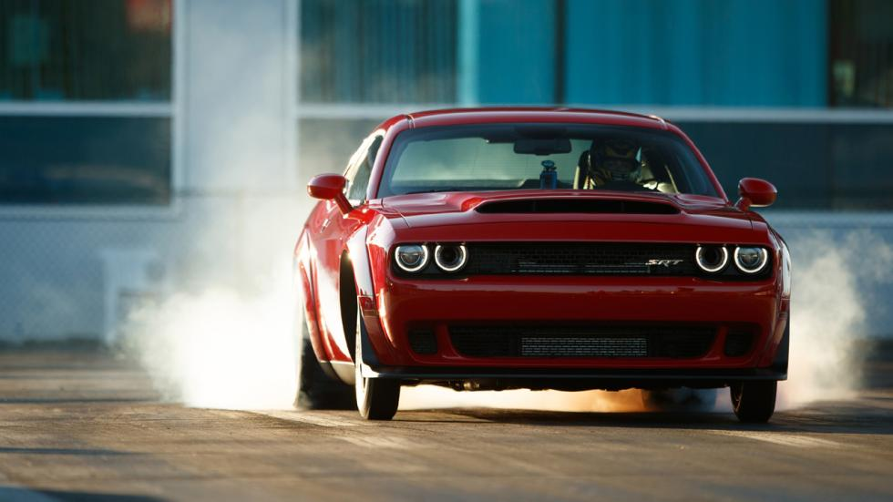 Coches que son un imán para los radares - Dodge Challenger SRT Demon