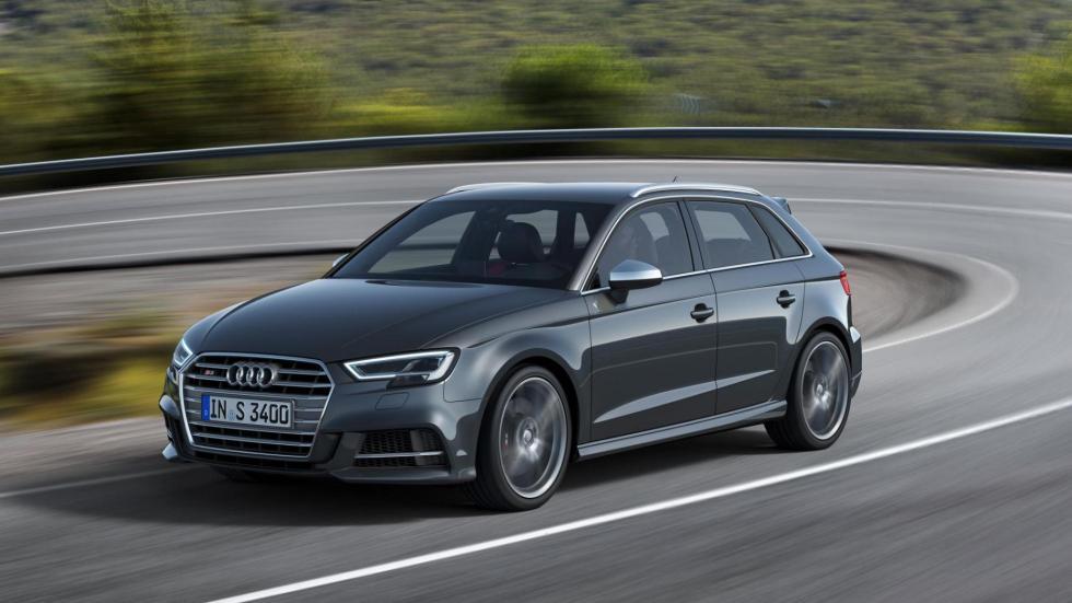 Compactos que más aceleran: Audi S3, 4,6 segundos