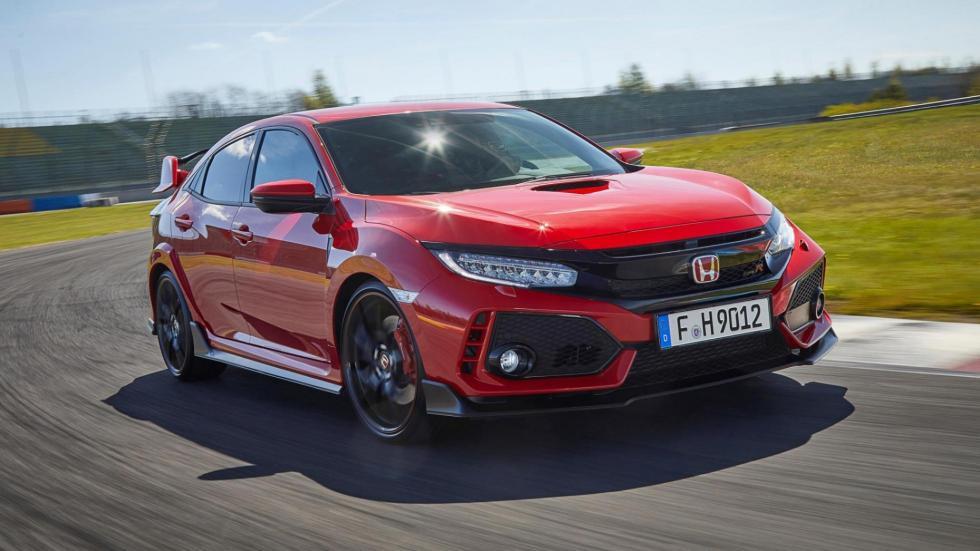 Compactos que más aceleran: Honda Civic Type R, 5,7 segundos