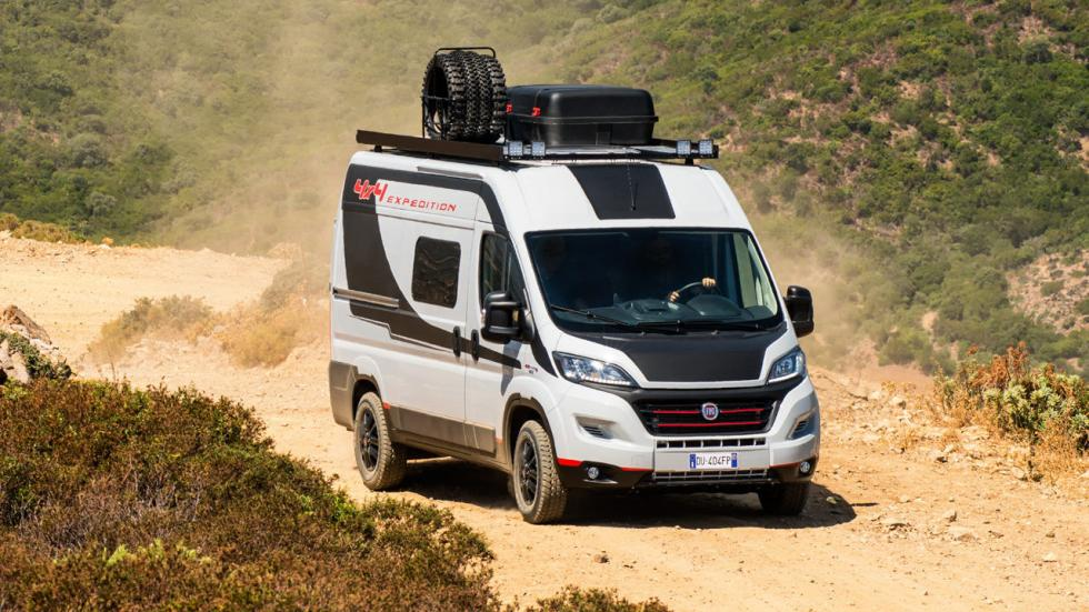Fiat Ducato 4x4 Expedition 2017