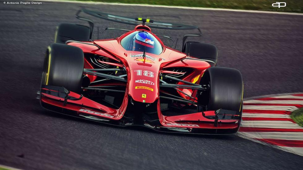 Imágenes del Ferrari F1 2025
