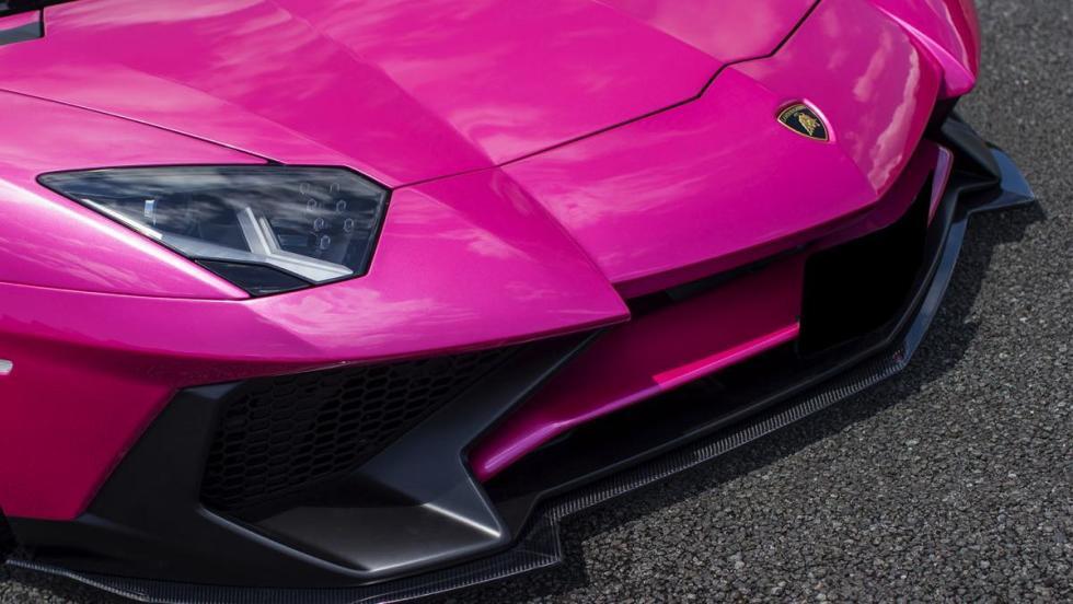 Lamborghini Aventador Liberty Walk rosa