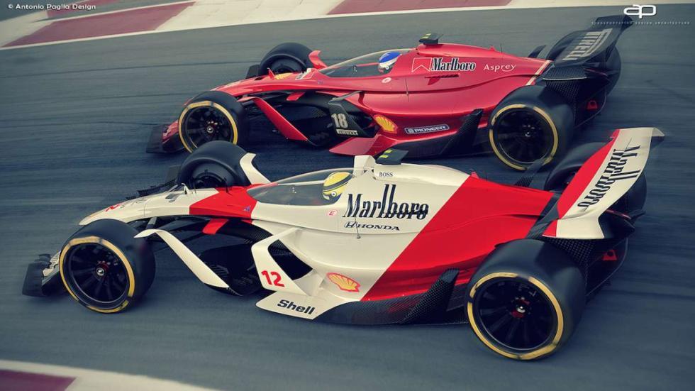 McLaren F1 2025 y Ferrari F1 2025