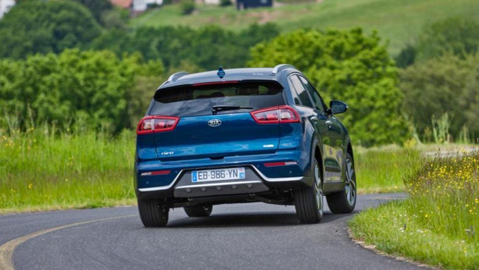 Mejores coches híbridos calidad-precio: Kia Niro (II)