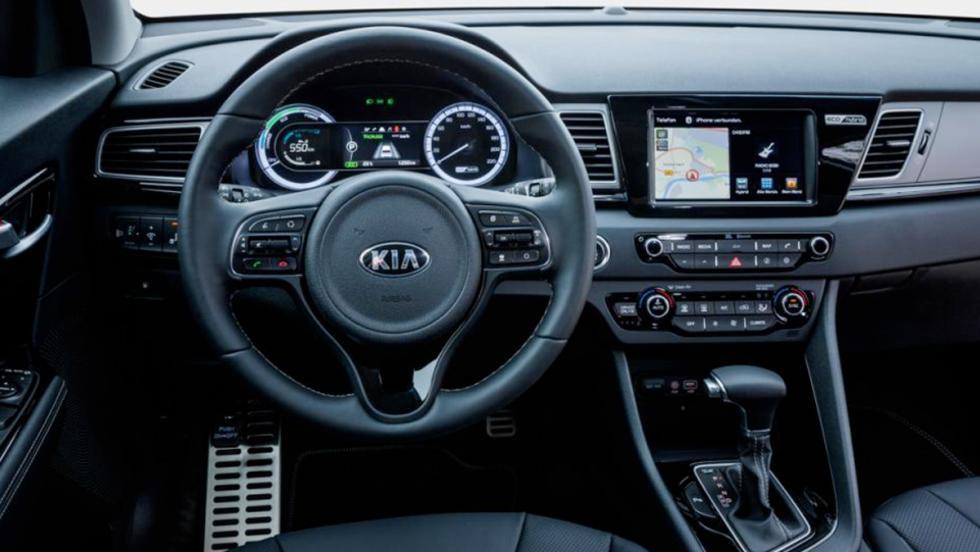 Mejores coches híbridos calidad-precio: Kia Niro (III)