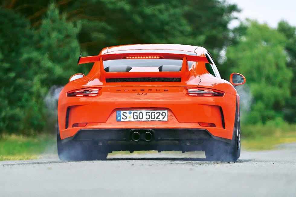 Un Porsche 911 GT3 en el día a día.