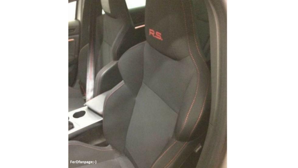 Renault Mégane RS (asientos 1)