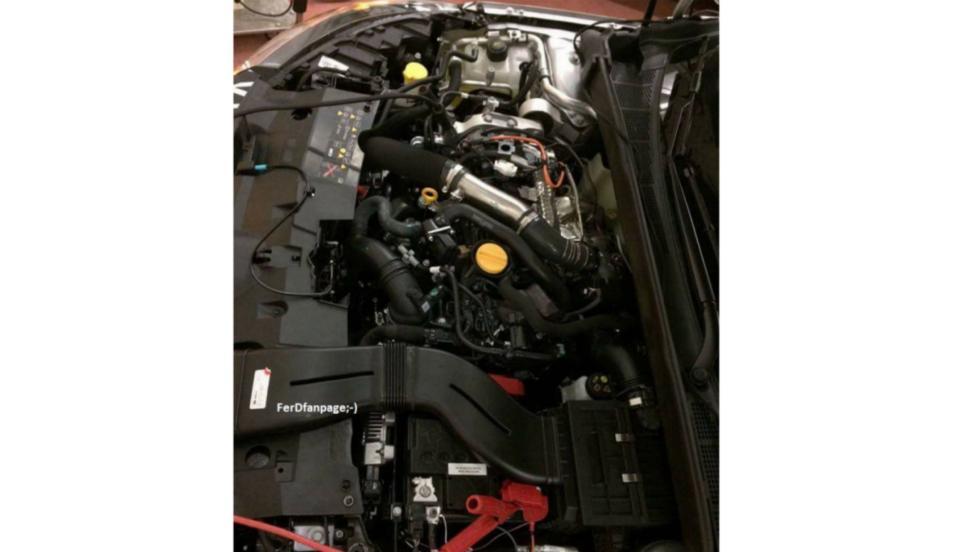 Renault Mégane RS (motor 1)