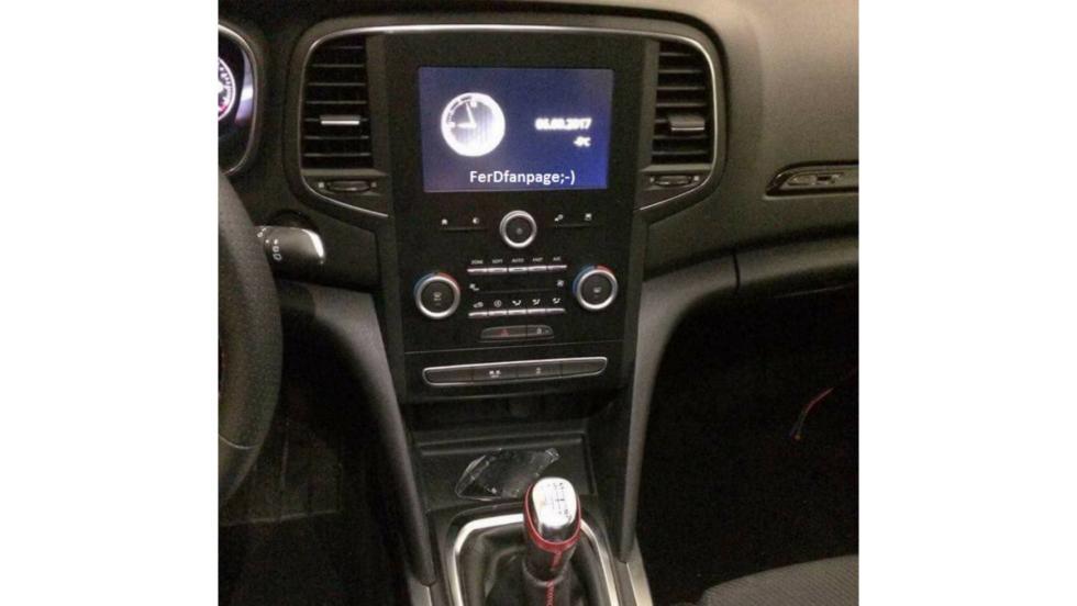 Renault Mégane RS (pantalla)