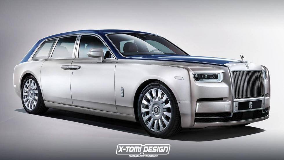 Render Rolls-Royce (I)