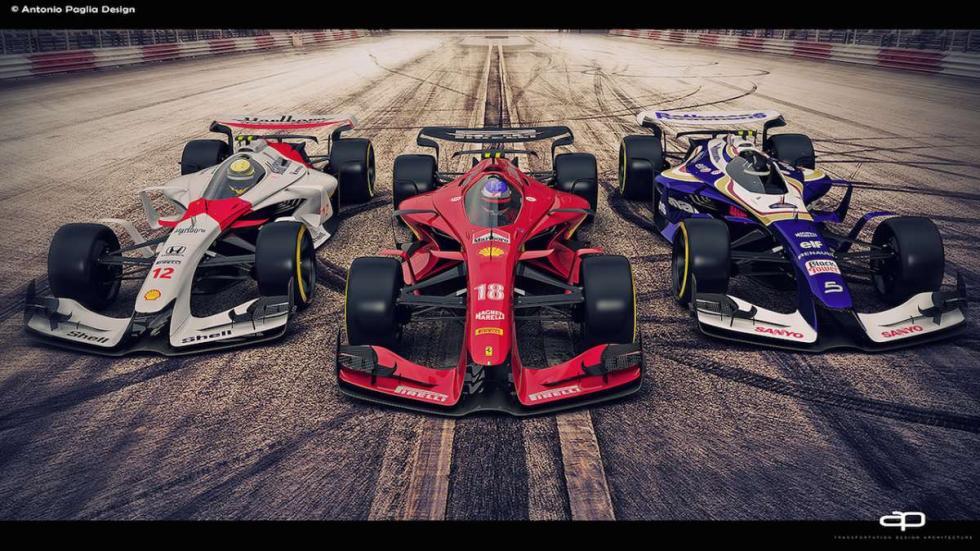 ¿Serán estos los F1 de 2025 de McLaren, Ferrari y Williams?
