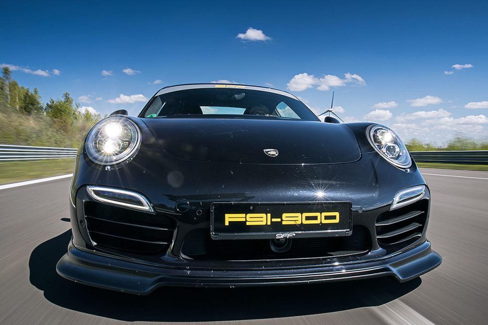 Porsche 911 Turbo S de 9ff