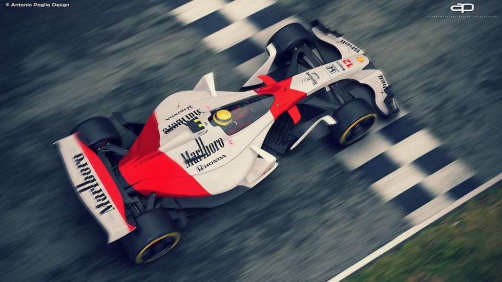 Un vistazo al que podría ser el McLaren de 2025