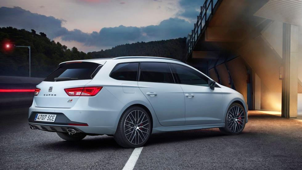5 coches con los que debería patrullar la Guardia Civil - Seat León Cupra ST