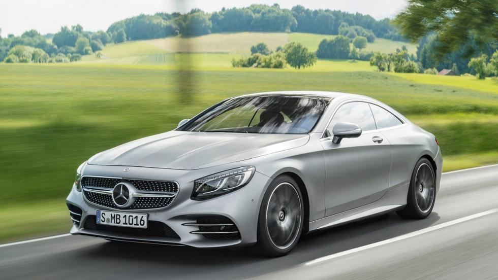 5 coches que serían mejores como eléctricos - Mercedes Clase S Coupé