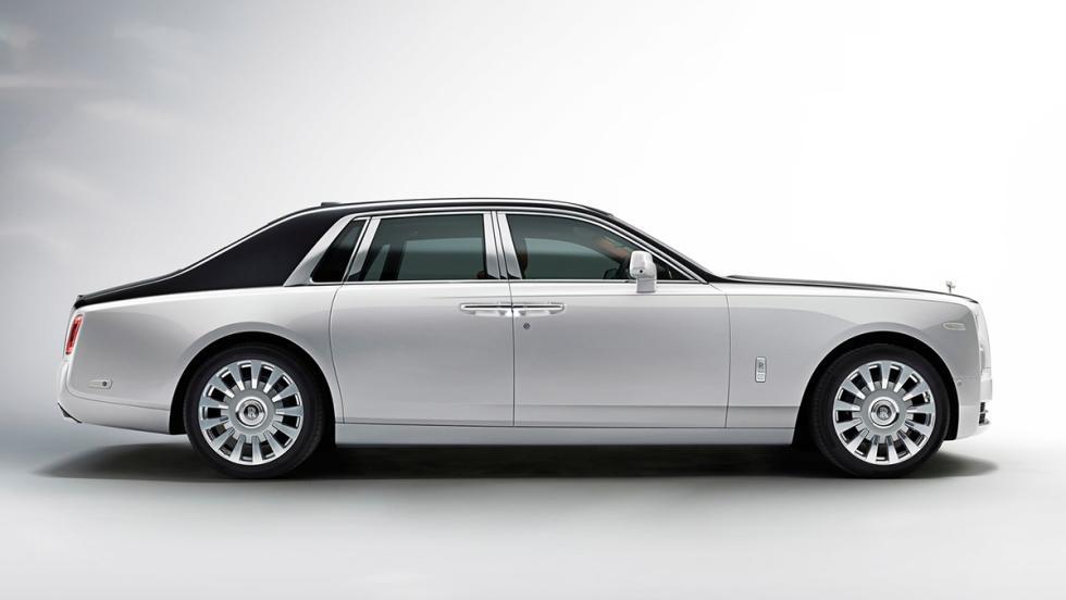 5 coches que serían mejores como eléctricos - Rolls-Royce Phantom