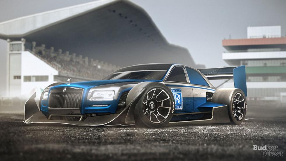 9 coches convertidos en monoplazas de fórmula 1 - Rolls-Royce Phantom