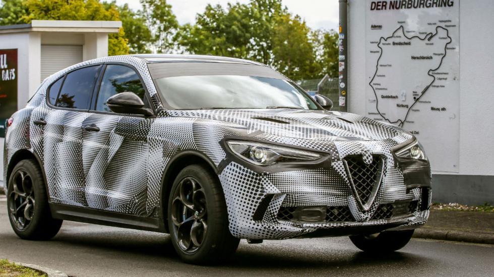 El Alfa Romeo Stelvio es el SUV más rápido en Nürburgring