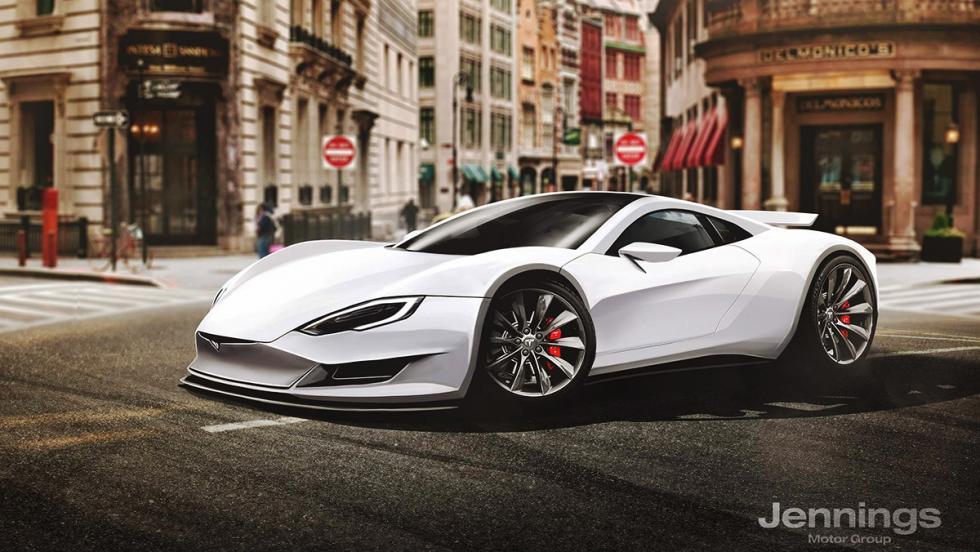 Así serían los superdeportivos si cada marca tuviera el suyo - Tesla