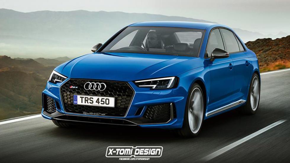 Audi RS 4 sedán