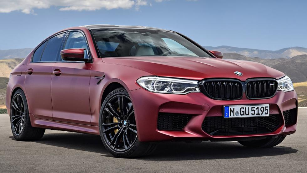 BMW M5 2017 First Edition