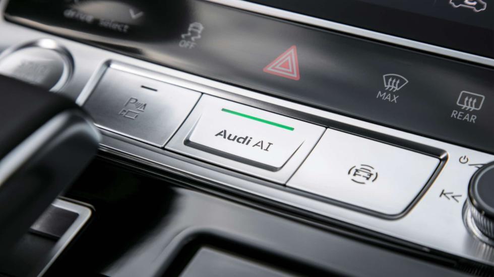 El botón AI del Traffic Jam Pilot