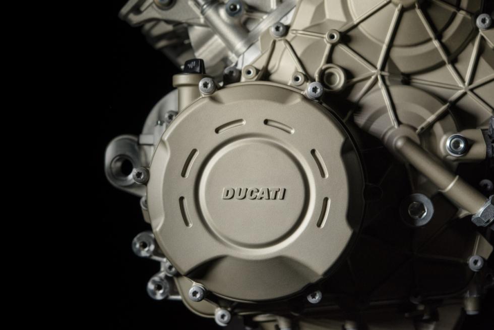 Desmosedici Stradale: el motor de la Ducati Panigale V4