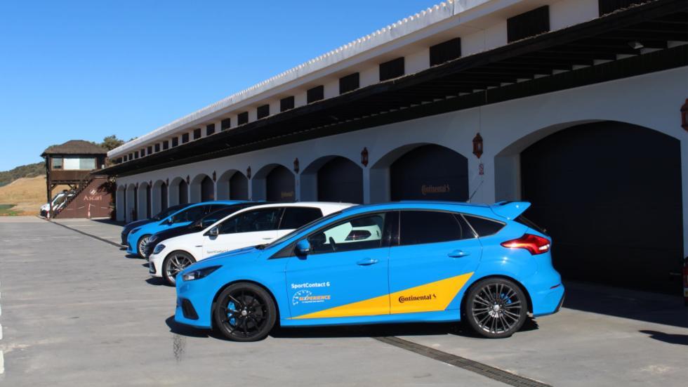 Festín en Ascari con Continental para probar también las SportContact 6