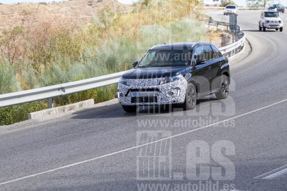 Fotos espía Suzuki Vitara 2018