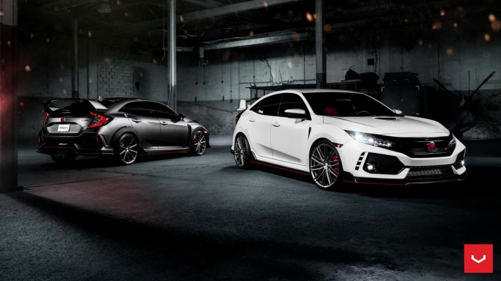 Honda Civic Type R Vossen