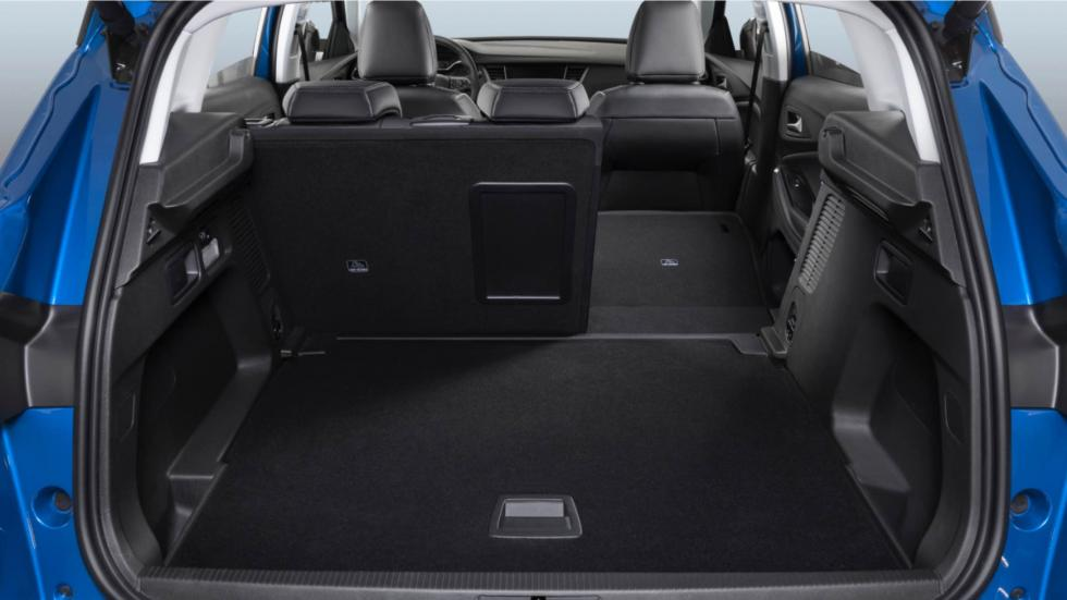 Opel Grandland X: maletero plano