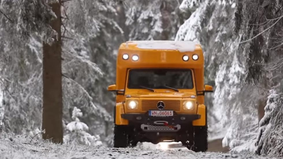 Mercedes Clase G autocaravana