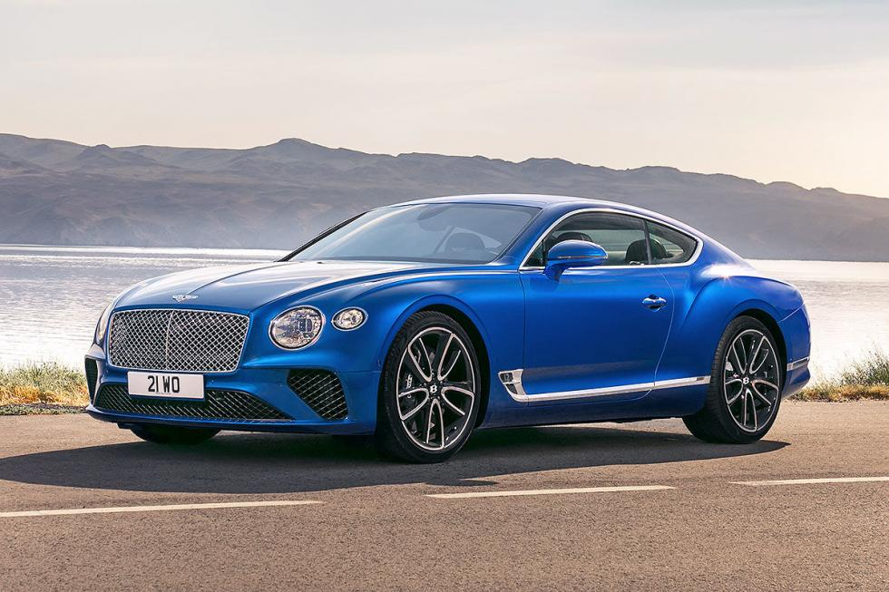 Prueba del Bentley Continental GT 2018