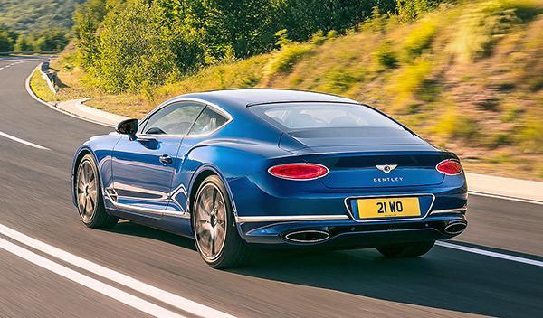 Prueba del Bentley Continental GT 2018