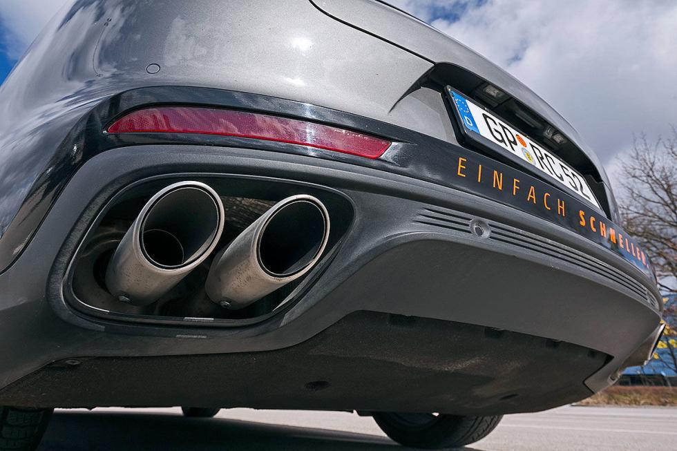 Prueba del Racechip Panamera 4S Diesel