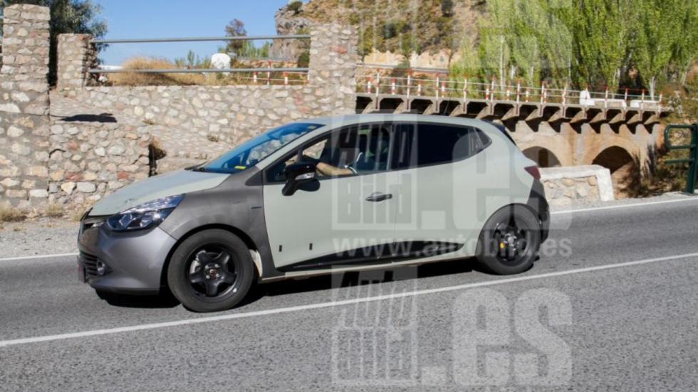 Renault Clio 2018: fotos espía