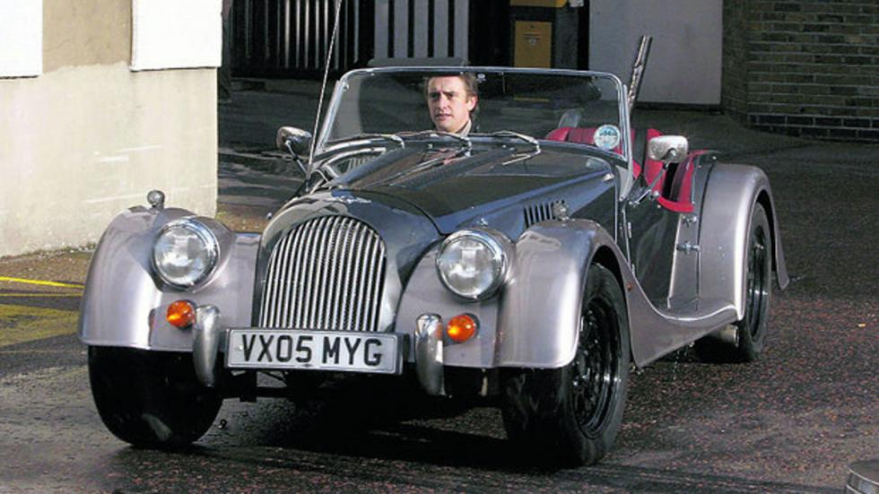 Richard Hammond y su Morgan Roadster