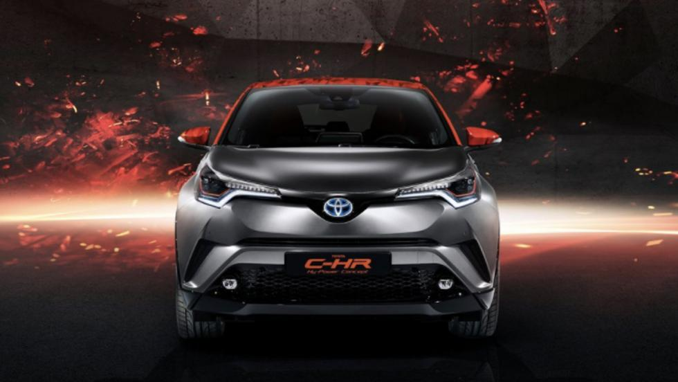 Toyota C-HR Hy-Power Concept (III)
