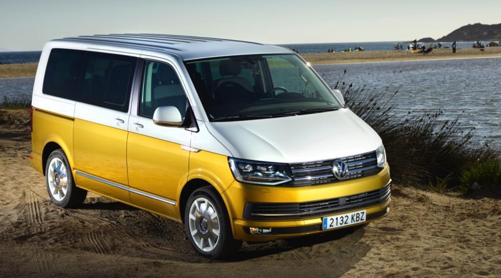 Volkswagen Multivan Bulli 70 aniversario