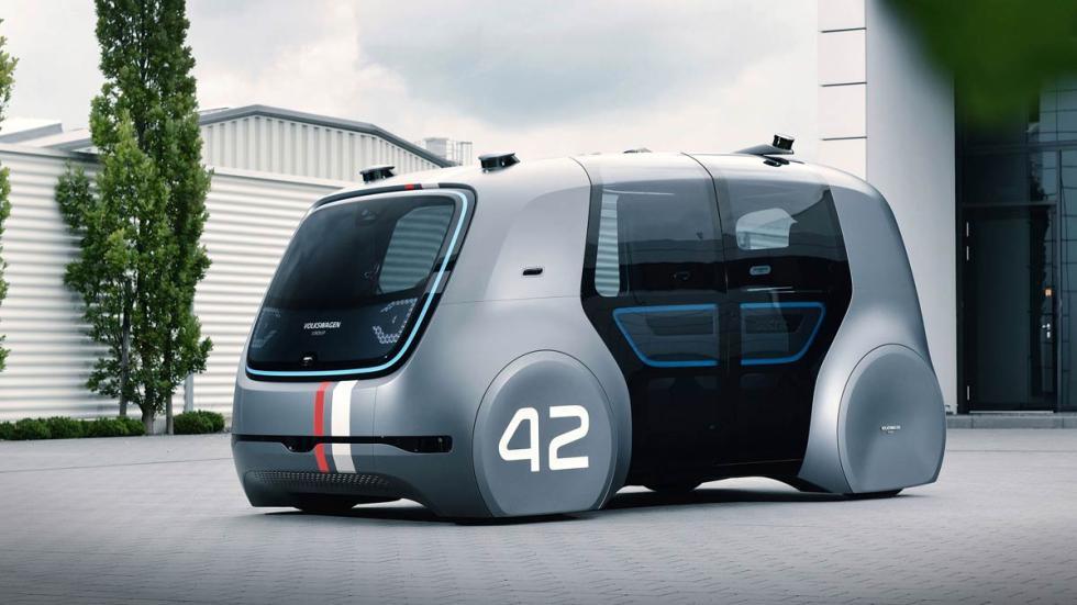Volkswagen SEDRIC coche autonomo