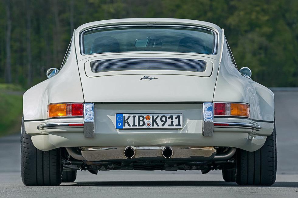 4 Porsche clásicos tuneados