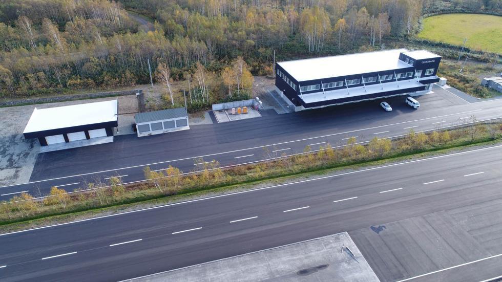 Circuito Subaru coches autónomos
