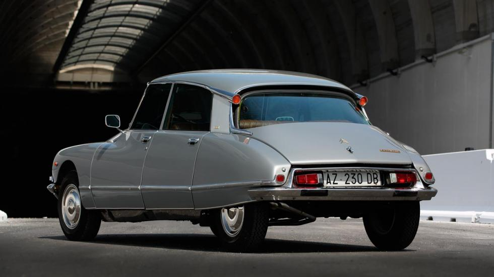 Citroën DS23 Pallas lujo berlina viejas glorias